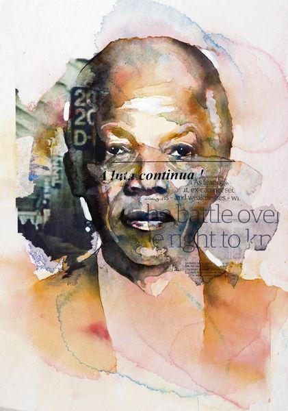 Mandela par Bruce Clarke